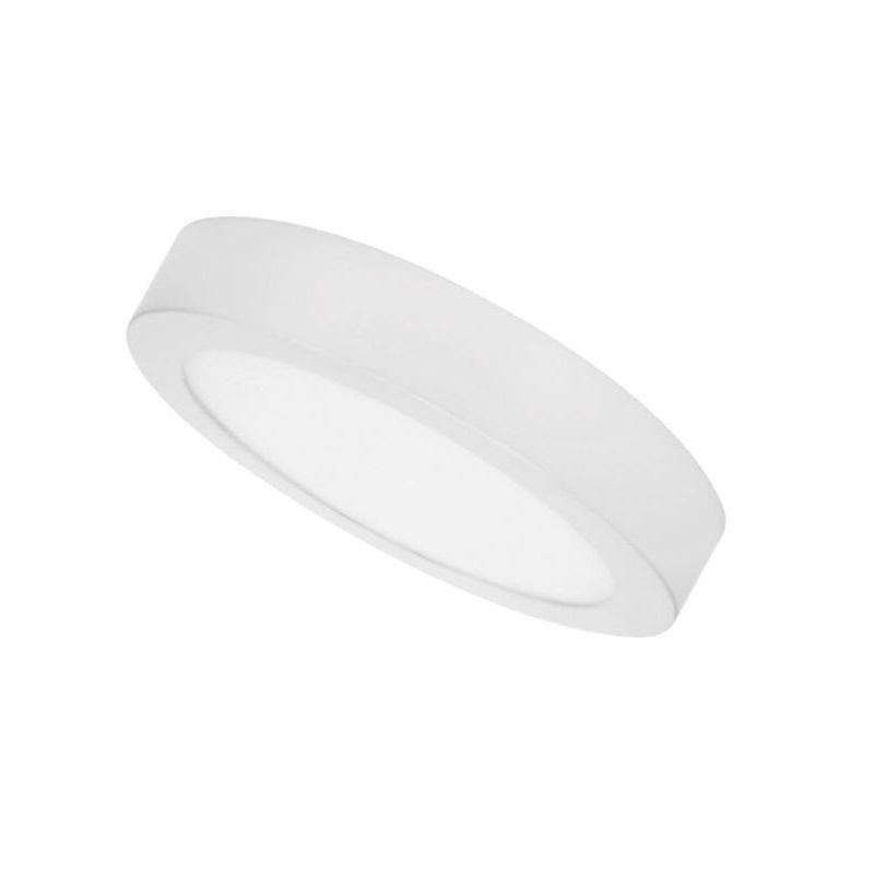 Plafones Led circulares PRILUX Downlight superficie Blanco 18W 4000K 225mm Breno Prilux