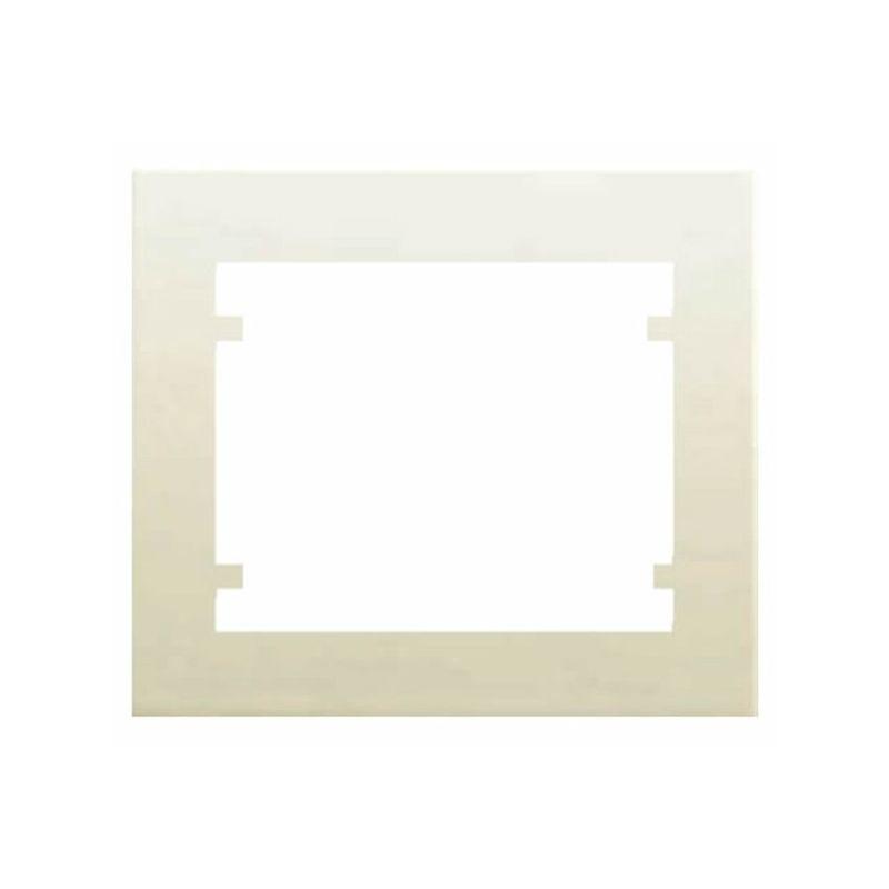 Interruptores y Enchufes por marca BJC Marco 1 Elementos Beige BJC Iris 18001-A