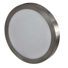 Downlight superficie gris 24W 3000K d.300mm Breno Prilux