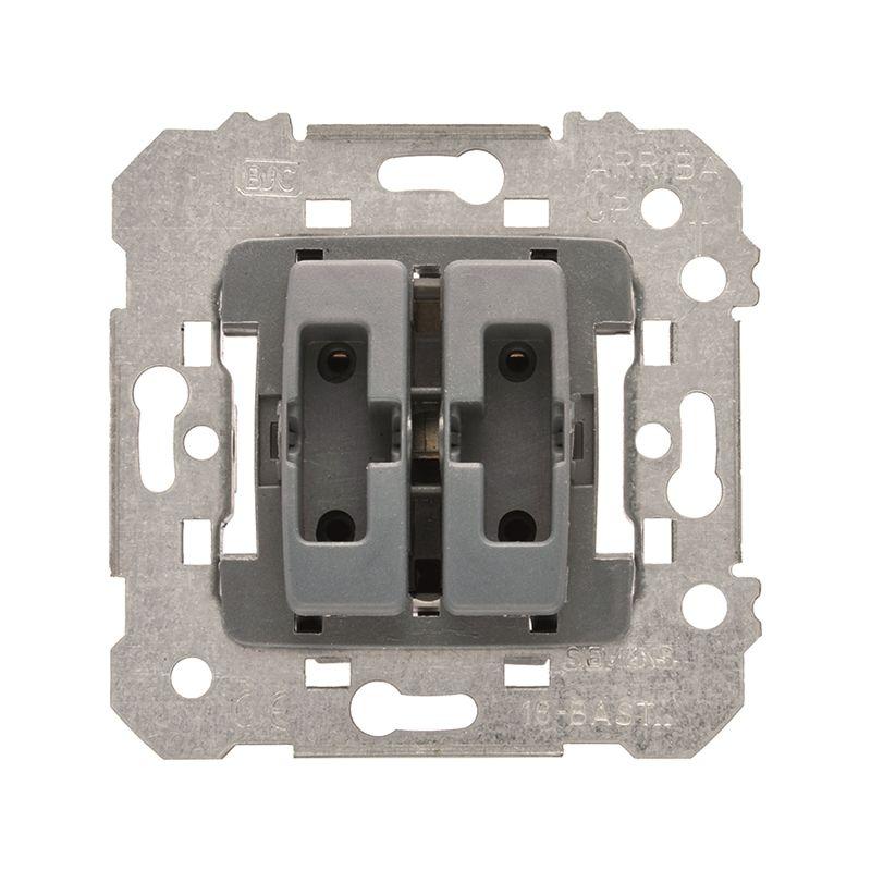 Interruptores y Enchufes por marca BJC Doble conmutador BJC Iris 18510