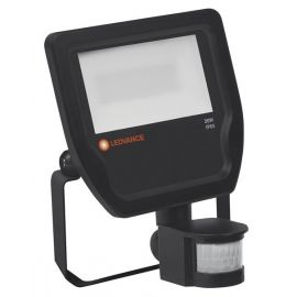 Proyector Floodlight led con sensor de luz y movimiento 20W 4000K negro IP65 Ledvance