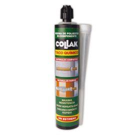 Taco químico poliéster 280ml Collak 48603