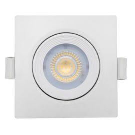 Foco led cuadrado blanco 6,5W Nahe luz neutra 840 Prilux
