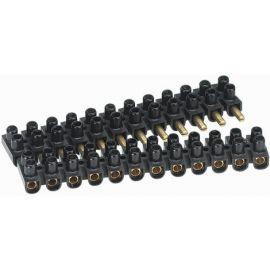 Regletas y Bornas de empalme LEGRAND Regleta enchufable Suprem macho-hembra 10mm negra Legrand