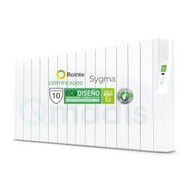 Emisor Térmico de Fluido Rointe Serie Sygma Programación Digital 14 Elementos Color Blanco