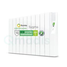 Emisor Térmico de Fluido Rointe Serie Sygma Programación Digital 10 Elementos Color Blanco