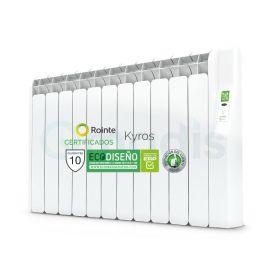Emisor Térmico de Fluido Rointe Serie Kyros Programación Digital 11 Elementos Color Blanco