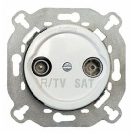 Interruptores y Enchufes por marca FONTINI Toma R-TV/SAT intermedia A blanco Fontini Venezia 35-713-05-2