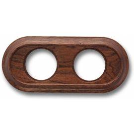 Marco 2 elementos madera sapelly oval Fontini Venezia 35-802-16-2