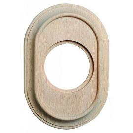 Marco 1 elemento madera haya sin barniz oval Fontini Venezia 35-801-00-2