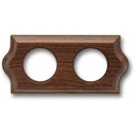Marco 2 elementos madera sapelly clásica Fontini Venezia 36-802-16-2