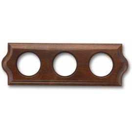Marco 3 elementos madera sapelly clásica Fontini Venezia 36-803-16-2