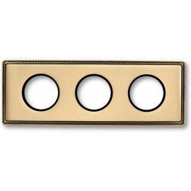 Marco 3 elementos dorado metal Fontini Venezia 39-803-50-2