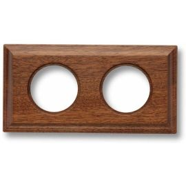 Marco 2 elementos madera sapelly carré Fontini Venezia 36-812-16-2