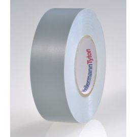 Cinta aislante de PVC 19mm x 20m gris HellermannTyton