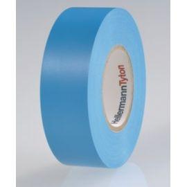 Cinta aislante de PVC 19mm x 20m azul HellermannTyton