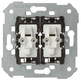 Conmutador doble con luminoso Simon 75394-39 series 75,82,88