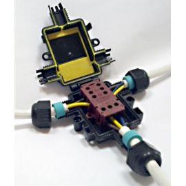 Caja conexión estanca IP67 3 polos CTH200 Hellermanntyton