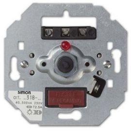 Regulador-conmutador luz giratorio con luminoso Simon 75318-39 series 75,82,88