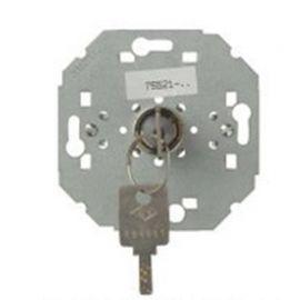 Conmutador-Pulsador con llave con enclavamiento Simon 75522-39 series 75,82,88