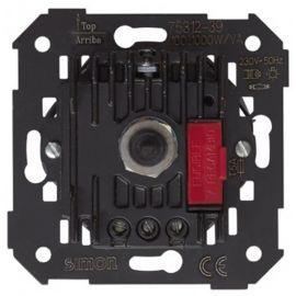 Regulador-conmutador electronico tension 100-1000W Simon 75312-39 series 75,82