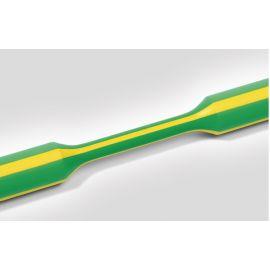 Tubo termorretráctil verde-amarillo 1 metro, relación de contracción 4,8mm/2,4mm HellermannTyton 309