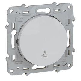Pulsador simbolo luz blanco Schneider Odace S520256