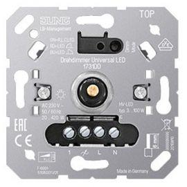 Dimmer giratorio universal LED Jung serie LS990 1731DD