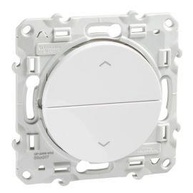 Pulsador persianas blanco Schneider Odace S520207