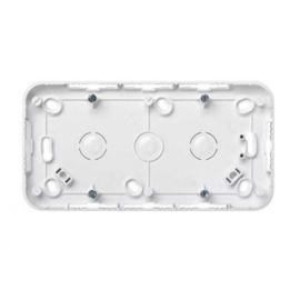 Caja de superficie 2 elementos blanco Simon73 73760-30
