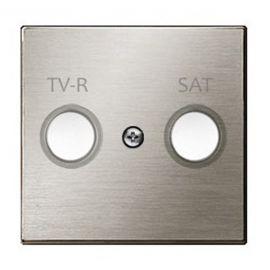 Tapa toma TV+R/SAT acero inox Niessen Sky 8550.1 AI