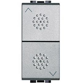 Conmutador persianas doble aluminio Bticino Livinglight N4027