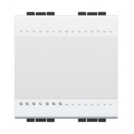 Pulsador 10A ancho blanco Bticino Livinglight N4005M2A
