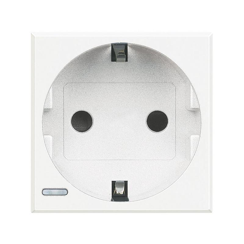 Interruptores y Enchufes por marca BTICINO Base de enchufe blanco Bticino Axolute HD4141