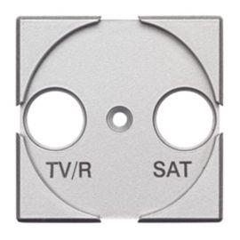 Toma TV/R-SAT ancho tech Bticino Axolute HC4212