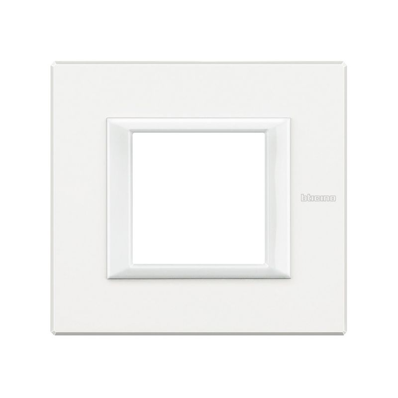 Placa recta blanco Bticino Axolute HA4802HD