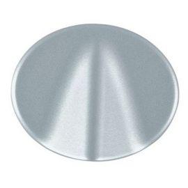 Tapa salida cable/puls. tirador plata Niessen Tacto 5507 PL