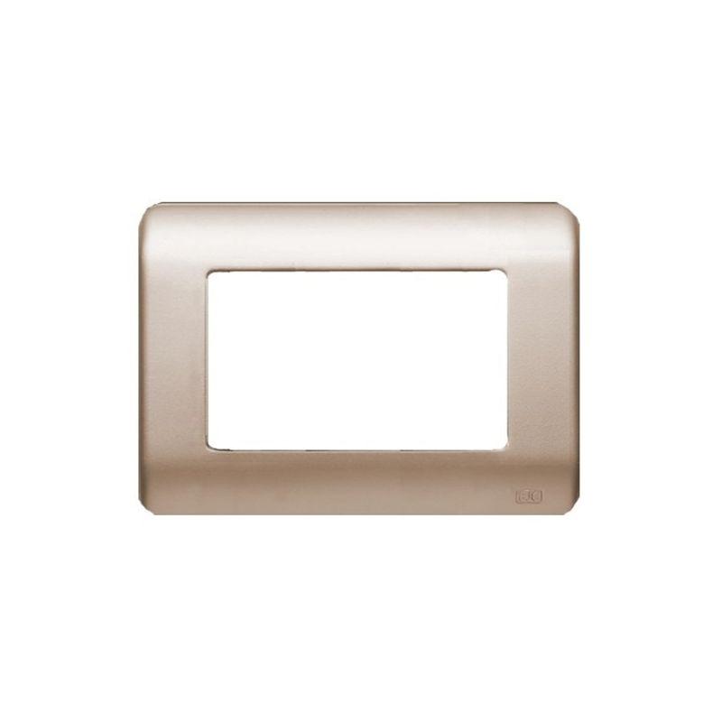 Interruptores y Enchufes por marca BJC Marco 4 elementos estrechos dorado BJC Rehabitat 16654-DR - reemplazo Lineal