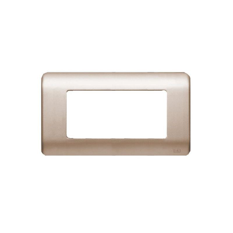 Interruptores y Enchufes por marca BJC Marco 6 elementos estrechos dorado BJC Rehabitat 16656-DR - reemplazo Lineal