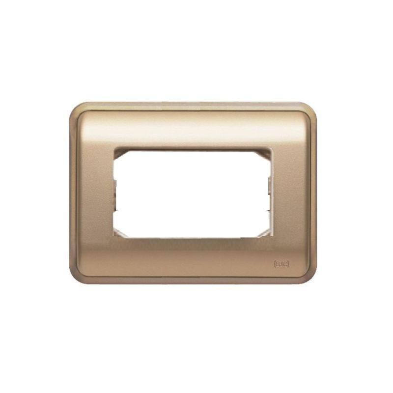 Interruptores y Enchufes por marca BJC Marco 3 elementos estrechos dorado BJC Rehabitat 16663-DR - reemplazo Estrella
