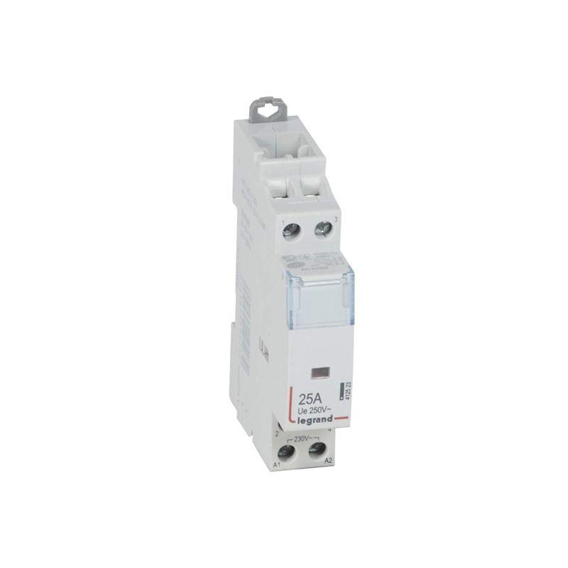 Contactores y Telerruptores LEGRAND Contactor 2P 25A 2NA bobina 230V 1 módulo Legrand CX3 412523