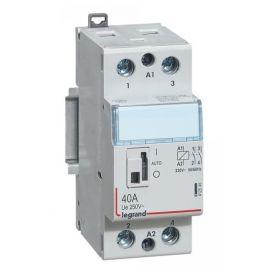 Contactor 25A 2NA 2P con bobina de 230V Legrand CX3 412545