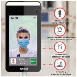 Control de Acceso Facial con Detección de temperatura Tecatel SE-PAIRT
