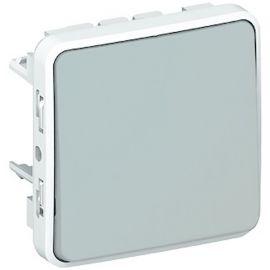 interruptor-conmutador componible gris Legrand Plexo 069511