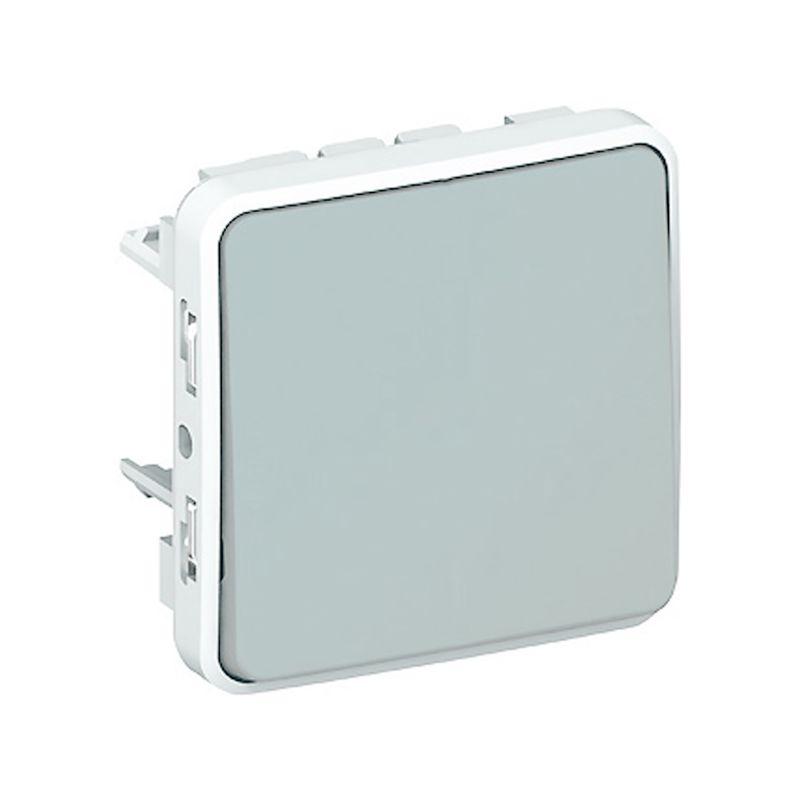 Interruptores y Enchufes por marca LEGRAND interruptor-conmutador componible gris Legrand Plexo 069511