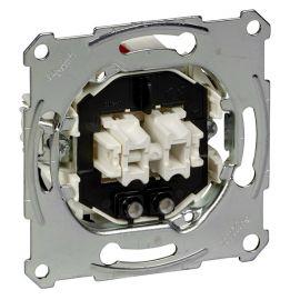 Interruptor doble Schneider MTN3135-0000