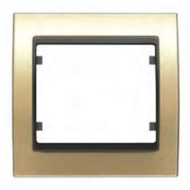 Marco 1 elemento dorado BJC Mega 22001-DG