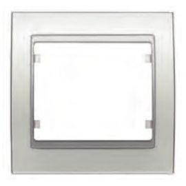Marco 1 elemento blanco satín BJC Mega 22001-BS