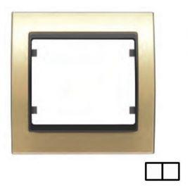 Marco 2 elementos dorado BJC Mega 22002-DG