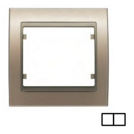 Marco 2 elementos bronce niebla BJC Mega 22002-BN